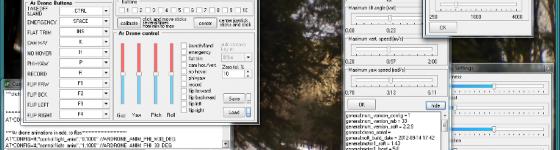 Software para manejar Ar.Drone 2 con PC portatil y joystick