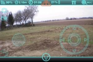 DroneControl con acelerómetro y Control Absoluto para el AR.Drone 2