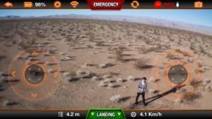Aplicación AR.Drone oficial de Parrot