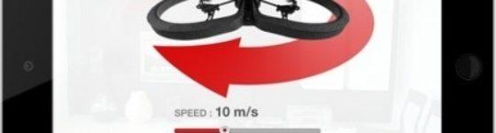 Director mode en App oficial AR.Drone en iOS