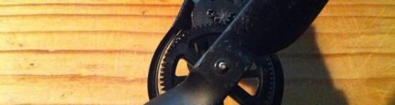 Construir protector de engranajes de goma y aluminio