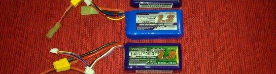 Tabla comparativa de baterías