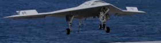 US NAVY consigue aterrizar un drone en un portaaviones