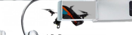 AR.Drone Manejado con Google Glass