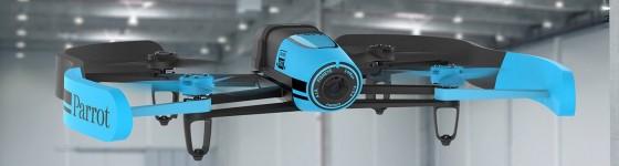Video tutoriales de manejo del bebop drone