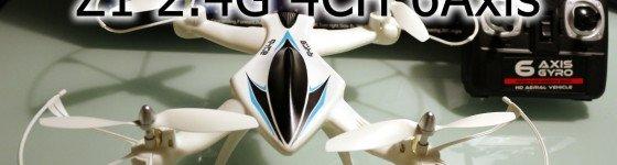 Revisado del Drone Z1 4ch 6 Axis Gyro