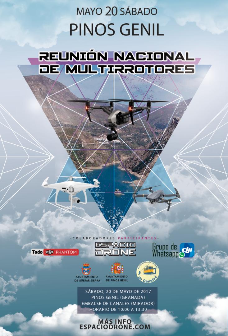 Quedada de drones en Pinos Genil (embalse de Canales)