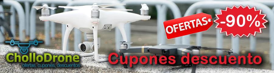 Ofertas y chollos de drones