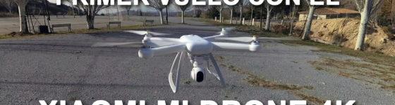 Primer Vuelo del Xiaomi Mi Drone 4K