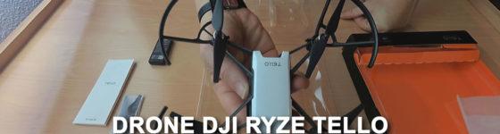 Desempaquetado del drone TELLO de Ryze y DJI